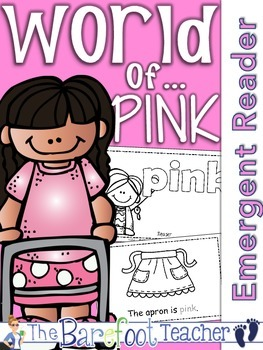 Colors {PINK} Emergent Reader & Class Poster