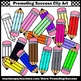 Colorful Pencil Clipart , School Supplies Clip Art SPS