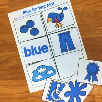 Colors Picture Cards