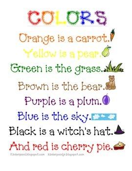 Colors Poem