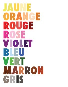 Colors Poster (French)