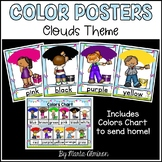 Colors Posters {Clouds Background}