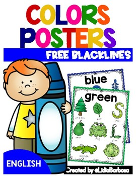 Colors Posters- ENGLISH