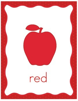 Apples Color Posters