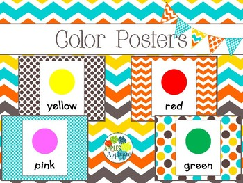 Color Posters in Candy Colors Theme