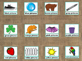 Colors PowerPoint Presentation Fun/Colorful Words/Pictures (Expandable)