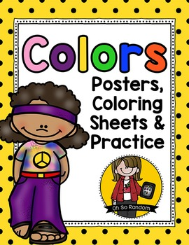 Colors Practice Pages