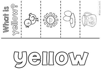 Colors Practice Pages Kindergarten