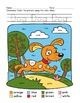 Colors Practice: Sight Words Practice with Color-by-Word Pets and Animals (Dog)