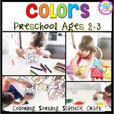 Colors: Preschool (2-3 years old)