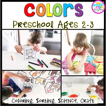 Colors: Preschool (2-3 years old)
