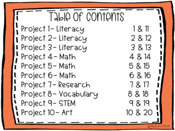 Colors Project-Based Learning & Enrichment for Literacy, Math, STEM & Research