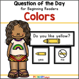 Colors: Question of the Day {Graphing Questions}