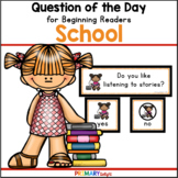 Back to School: Question of the Day {Graphing Questions}