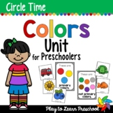 Colors Circle Time Unit