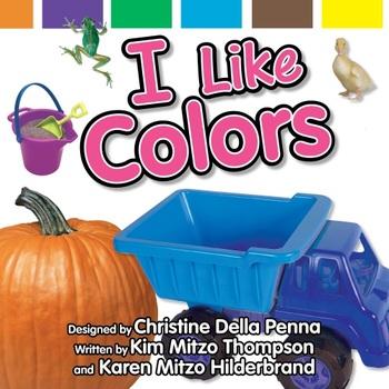Colors Read-Along eBook & Audio Track