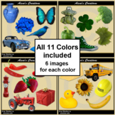 Colors Real Photo Clip Art Collection