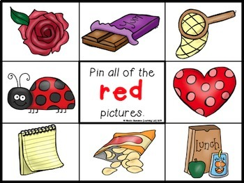 Colors Recognition - Self-Checking Math Centers