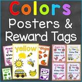 Colors Reward Tags & Color Posters Bundle Set