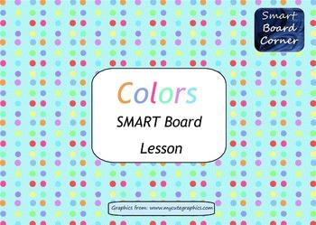 Colors SMART Board lesson