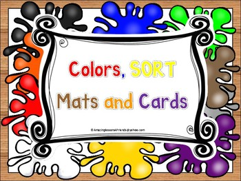 Colors SORT Mats and Cards
