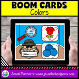 Colors Science Boom Cards (Digital and Distance Learning)
