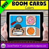 Colors Science Boom Cards FREE (Digital and Distance Learning)