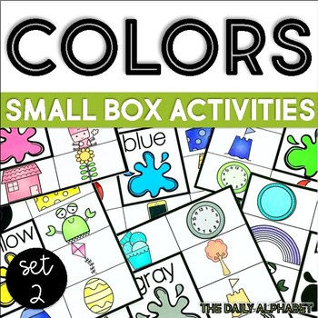 Colors Set 2: Small Box Activities