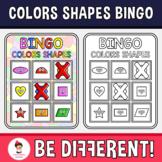 Colors Shapes Bingo