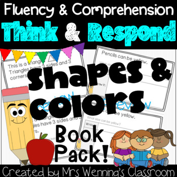 Colors & Shapes Book Pack: Think & Respond!