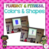 Colors & Shapes Fluency & Fitness Brain Breaks Bundle