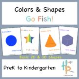 Colors & Shapes Go Fish!