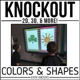 Colors & Shapes | KNOCKOUT | 2D, 3D, & Colors | Distance Learning