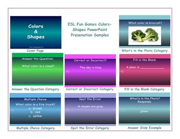 Colors-Shapes PowerPoint Presentation