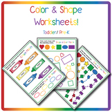 Colors & Shapes Worksheet