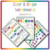 Colors & Shapes Worksheet