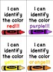 Colors, Shapes, and Counting Brag Tags - Oh My!!!