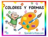 Colors & Shapes Activity in Spanish - Colores y Formas