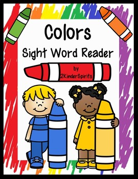Colors Sight Word Reader