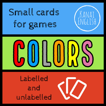 Colors - Small cards for games