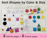 Colors Sorting and Size Sorting Activity | Toddlers and Pr