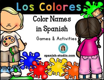 Los Colores/ Colors (Spanish)
