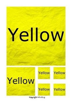 Colors Squares Display