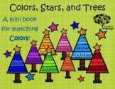 Colors, Stars, + Trees! Matching Interactive Book, Autism, Speech and Language