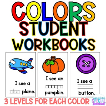 Colors - Student Workbooks