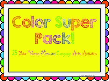 Colors Super Pack! 25+ Differentiated Activities