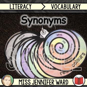 Colors Synonym Scrolls