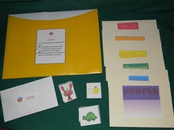 Colors- Teacher Made Educational Game, classroom resource, learning tool, math