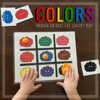 Colors: Interactive Sensory Play