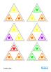 Autism Social Skills Turn Taking Colors Triominoes Game, Special Education